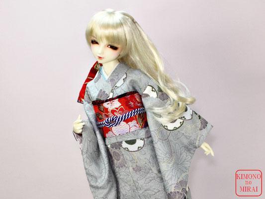 Super Dollfie 着物,SD 振袖,ドルフィー 和