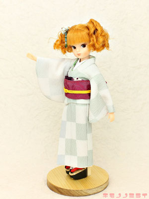 復刻版初代リカちゃん 着物,Licca kimono,初代リカ 振袖