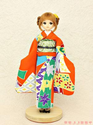 リカちゃん 着物,キャッスル 振袖,リトファ 和服