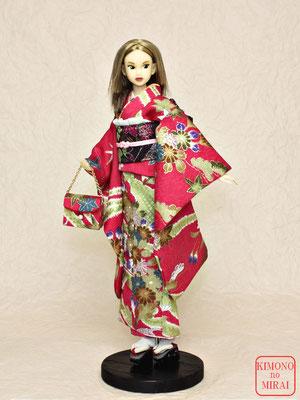 momoko 着物,ドール 振袖,Momoko kimono