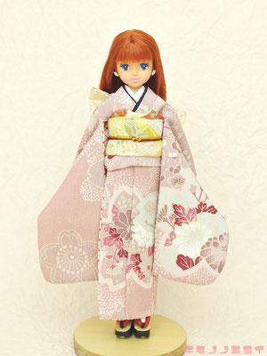 Licca kimono,リカちゃん 着物,リカフレンド 和服