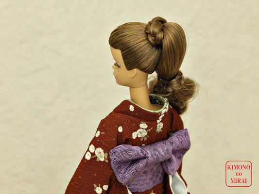 バービー 着物,バービー 振袖,Barbie kimono