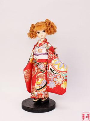 復刻版初代リカちゃん 着物,復刻リカ 振袖,Licca kimono