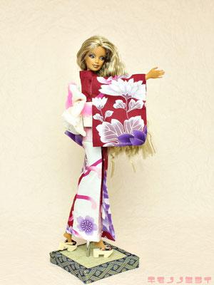 バービー 着物,Barbie kimono,ドール 浴衣
