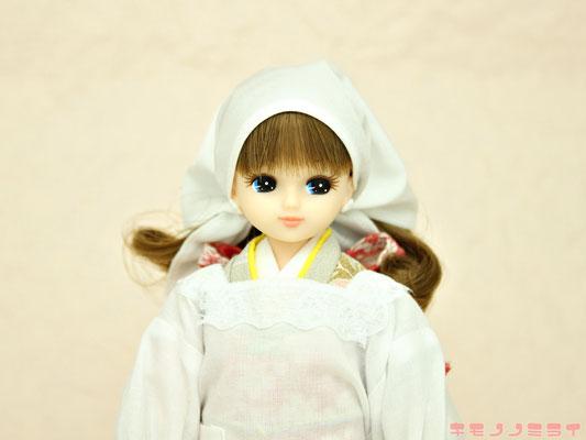 リカちゃん 着物,人形 割烹着,Licca kimono