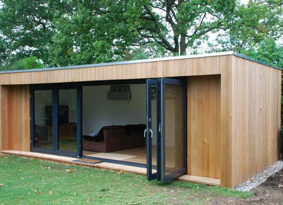 Ged mmte warme winterg rten anbauten und gartenh user moderne fertiggarage mit garagen - Wintergarten ffb ...