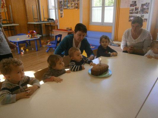 et trois anniversaires ce mois : Benjamin, Sacha et Gullia