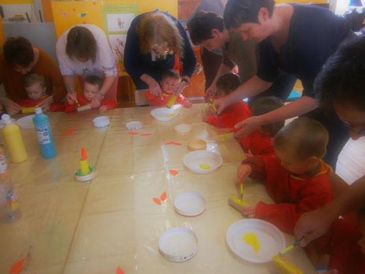 Fabrication d'un lapin de Pâques