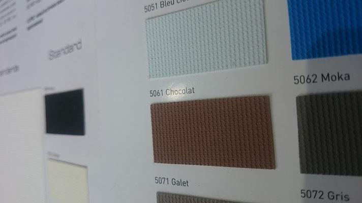 Farbig 705C 5061 Chocolat  Clipso / Meyer Spanndecken