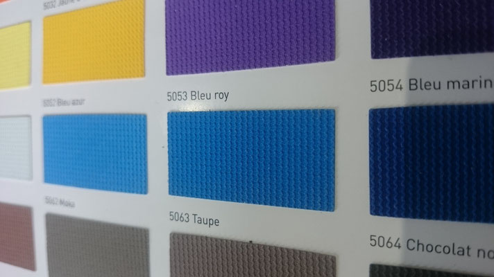 Farbig 705C 5053 Bleu roy  Clipso / Meyer Spanndecken