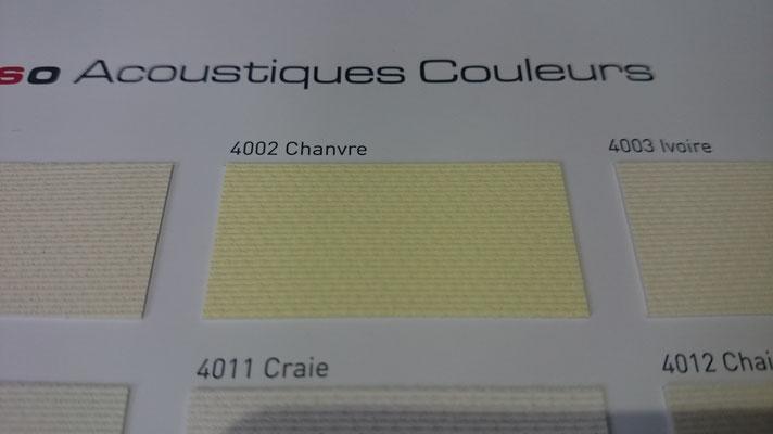 Akustik Farbig 495AC 4002 Chanvre Clipso / Meyer Spanndecken