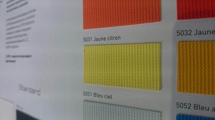Farbig 705C 5031 Jaune citron  Clipso / Meyer Spanndecken