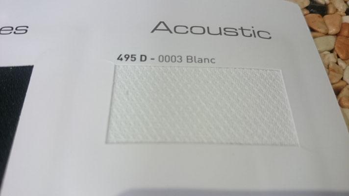 Akustik 495D 0003 Blanc Clipso / Meyer Spanndecken