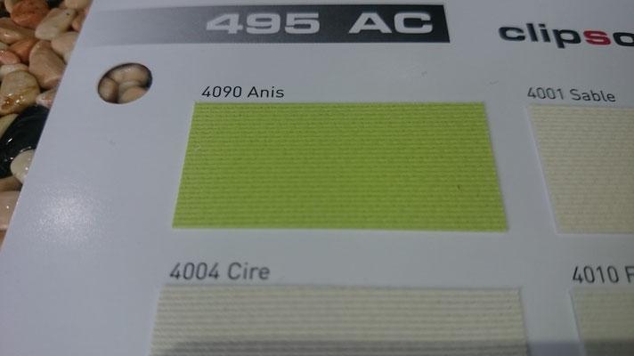 Akustik Farbig 495AC 4090 Anis Clipso / Meyer Spanndecken