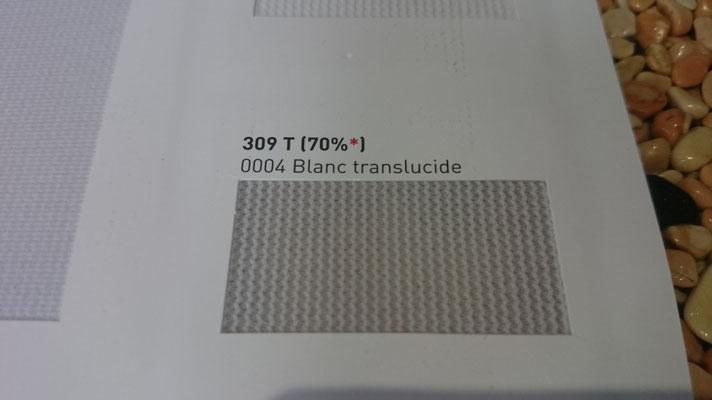 Transluzent Lichtdurchlässig 309T 70% 0004 Blanc Clipso / Meyer Spanndecken