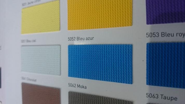 Farbig 705C 5052 Bleu azur  Clipso / Meyer Spanndecken