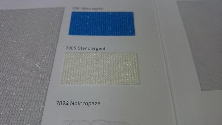 Paillete Glitzer 705PA 7051 Blanc argent Clipso / Meyer Spanndecken