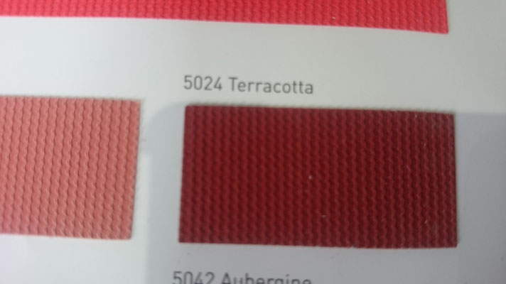 Farbig 705C 5024 Terracotta Clipso / Meyer Spanndecken