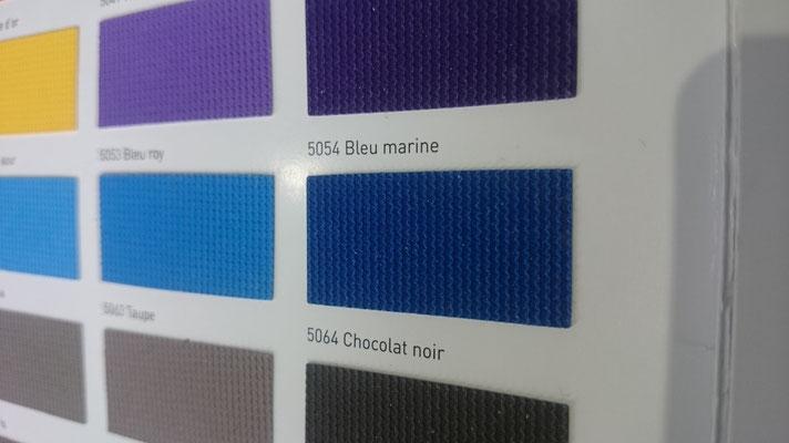 Farbig 705C 5054 Bleu marine  Clipso / Meyer Spanndecken