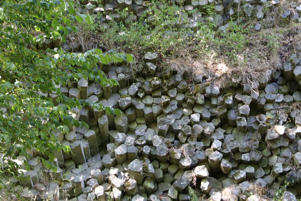 Basaltprismenwand Rhön | MTB-Guide Daniel