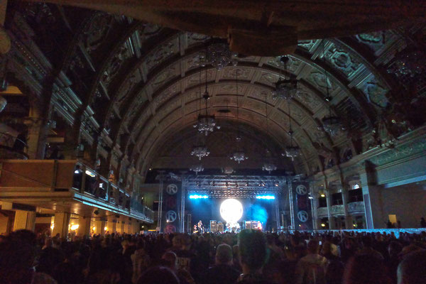 Rebellion Festival 2016 - Empress Ballroom - Zebraspider DIY Blog