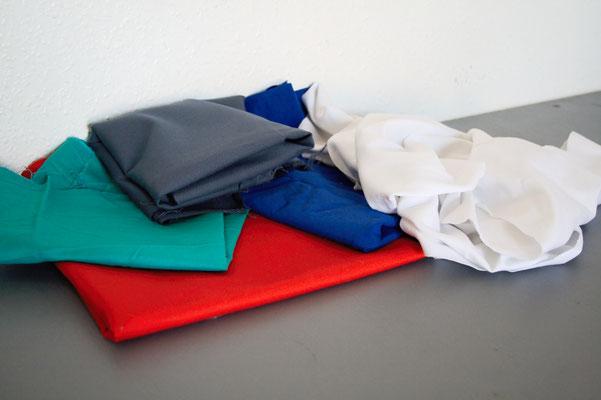 Zebra-Shibori Experiment - Stoffe zum Färben - Zebraspider DIY Anti-Fashion Blog