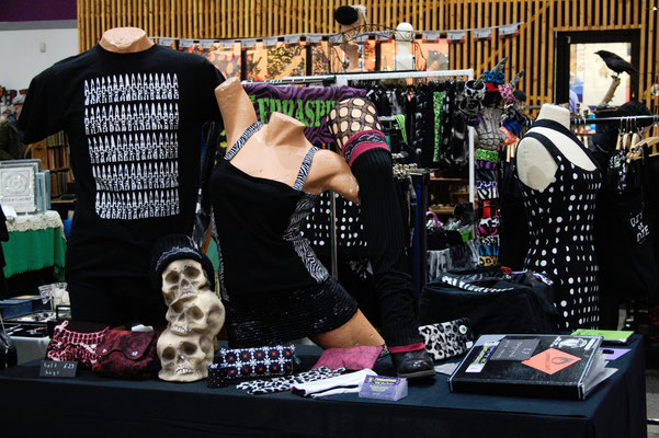 Goth Market Haul and Halloween Decorations - Cabinet of Curiosities Bazaar Leeds 2019 - Zebraspider DIY Anti-Fashion Blog