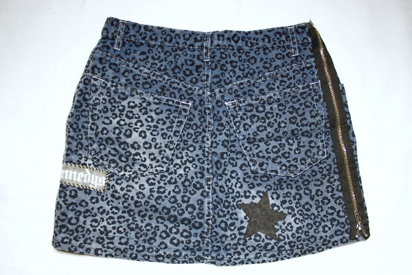 Rock Leopard blau - Zebraspider Flohmarkt Teil 2