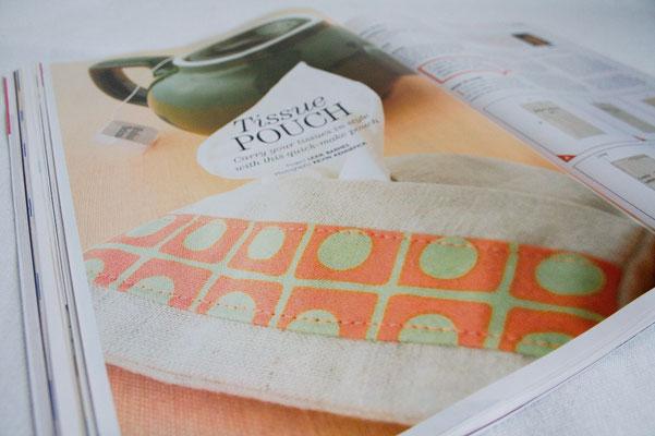 Anders Nähen in England - Sew Now Taschentücher-Tasche - Zebraspider DIY Anti-Fashion Blog