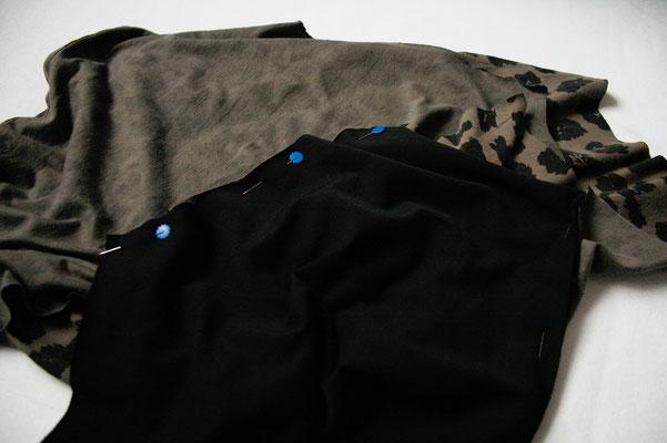 Zweites Leben für den Leopard - Ärmel nähen - Zebraspider DIY Anti-Fashion Blog