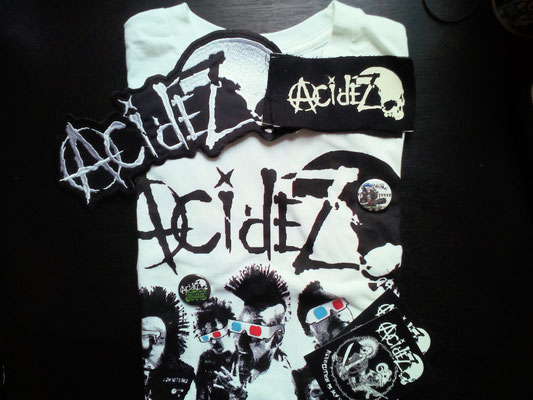 Rebellion Festival 2017 - Acidez Merch - Zebraspider DIY Anti-Fashion Blog