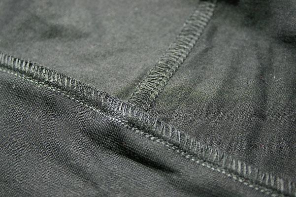 Nähte - Fledermaus-Shirt in schwarz und lime - Zebraspider