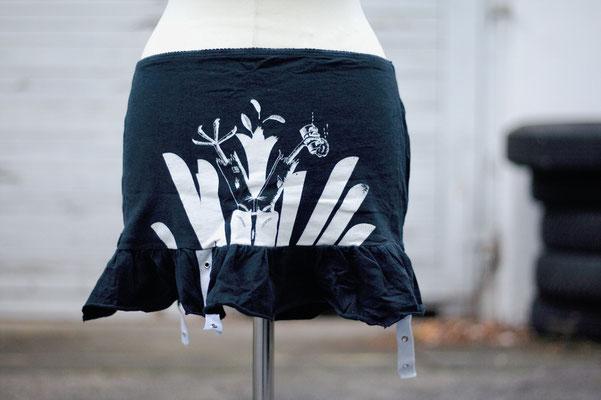 Normahl T-Shirt-Rock - Zebraspider Flohmarkt