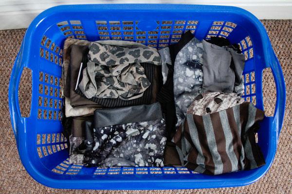 Wie steht's mit der Apokalypse? - Wäschekorb - Zebraspider DIY Anti-Fashion Blog