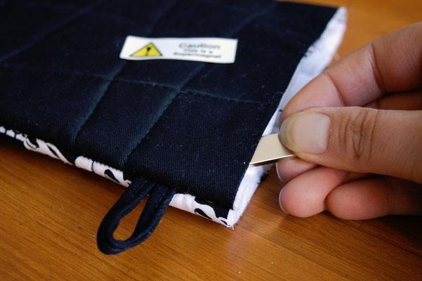 Ofenhandschuhe und Topflappen mal anders - mit Supermagnet - Zebraspider DIY Blog