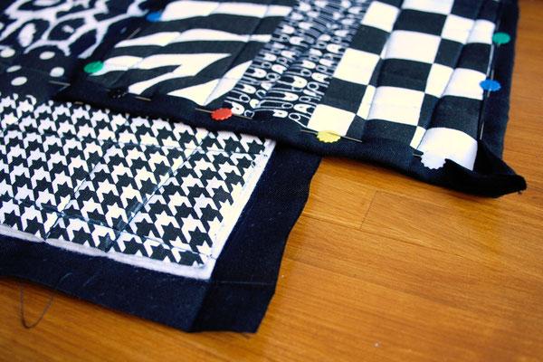 Ofenhandschuhe und Topflappen mal anders - ohne Schrägband - Zebraspider DIY Blog