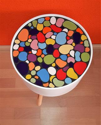 Mosaik Beistelltisch