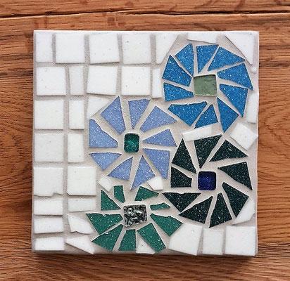 Mosaik Bild/Untersetzer