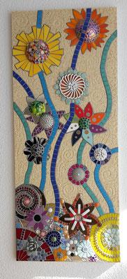 Mosaik Fantasieblumen