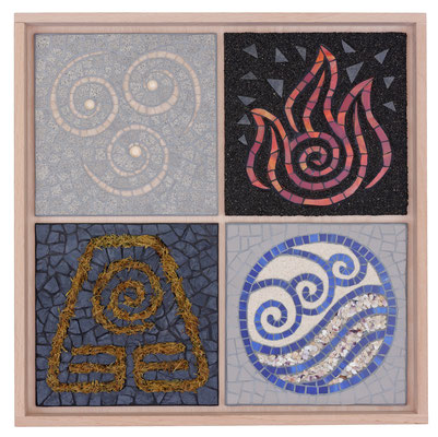 Mosaik 4 Elemente