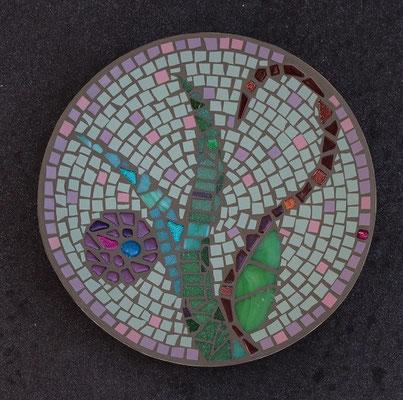 Mosaikschale Blume
