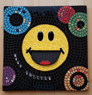 Mosaik Smiley