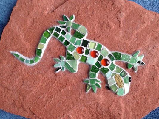 Mosaik Gecko
