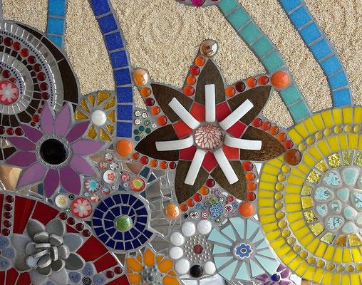 Mosaik Blumen