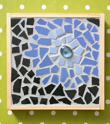 Mosaikuntersetzer aus Fliesen