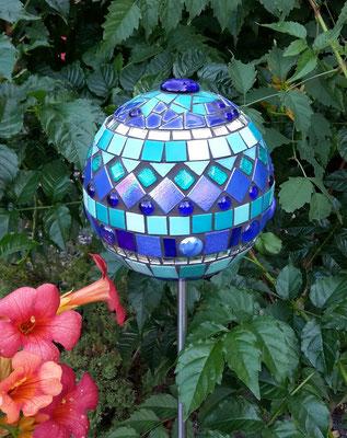 Mosaik Gartenkugel