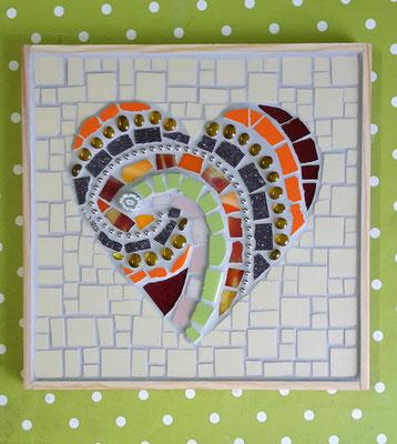 """Mosaikbild """"Herz"""""""