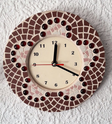 Mosaik Uhr