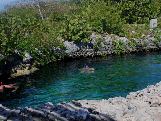 Snorkel en la Cueva de Los Peces