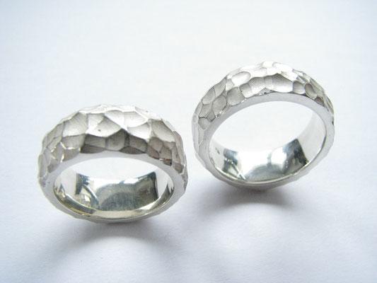 Eheringe in Silber